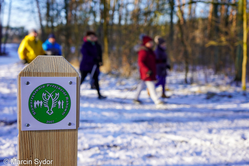 slupek trasa nordic walking rakownia